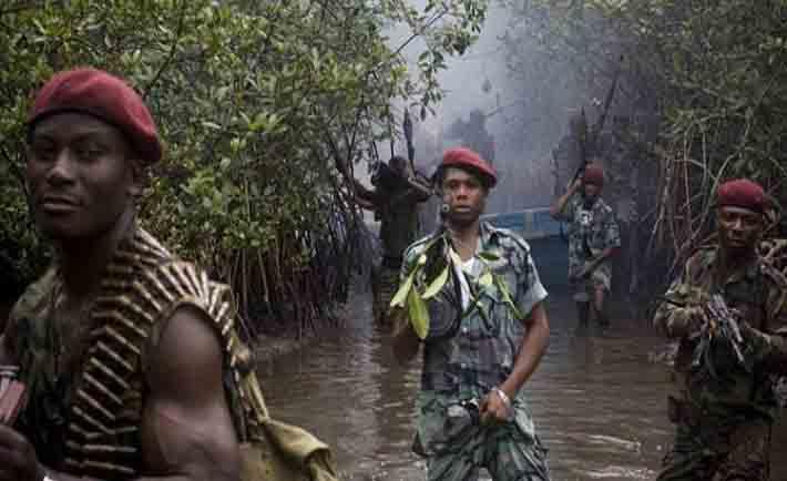 Nigerian Navy declares war on Niger Delta Avengers