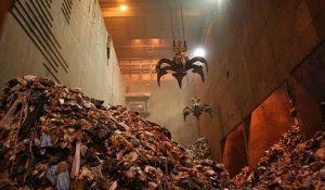 Waste energy plant