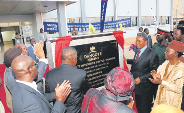 Dangote Cement confirms bid for South Africa's cement company