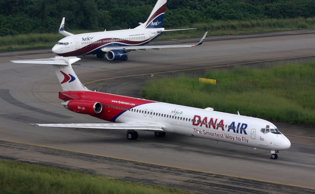 NCAA probes Dana Air plane emergency door incident