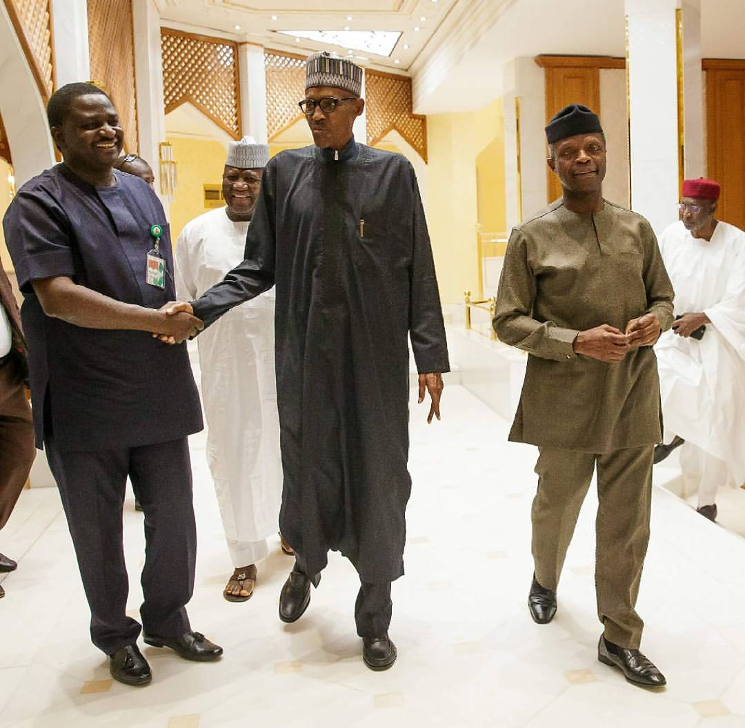 We are doing our best to solve Nigeria's problems - President Buhari