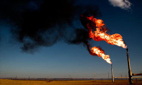 Natural Gas Flaring From Space