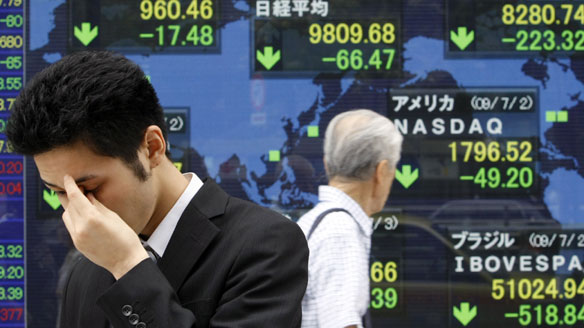 Stock markets in Asia, Europe fall on rising unease over North Korea