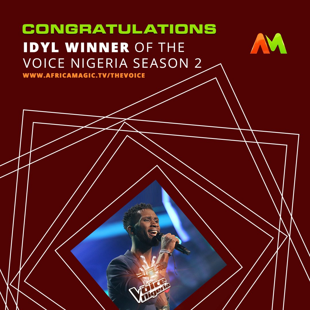 I'm proudly from the streets, Idyl says after winning The Voice Nigeria