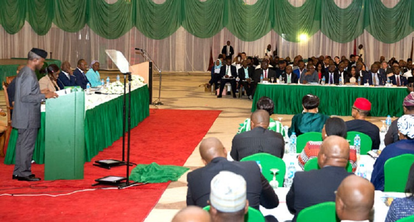 Osinbajo Denies 2019 Presidential Ambition