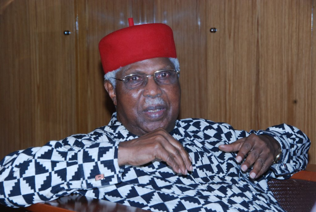 Tributes Pour In For Ex-VP Alex Ekwueme