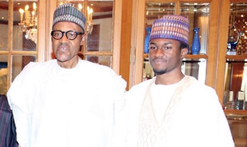 Buhari, others pray for injured son at Jumat