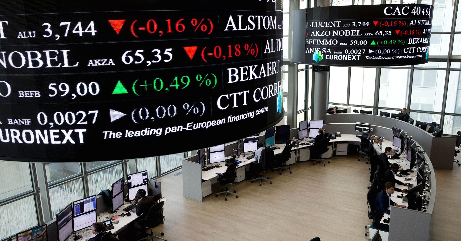Europe stock market today торговый бот скачать форекс
